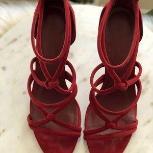 Zara strappy high heeled sandals